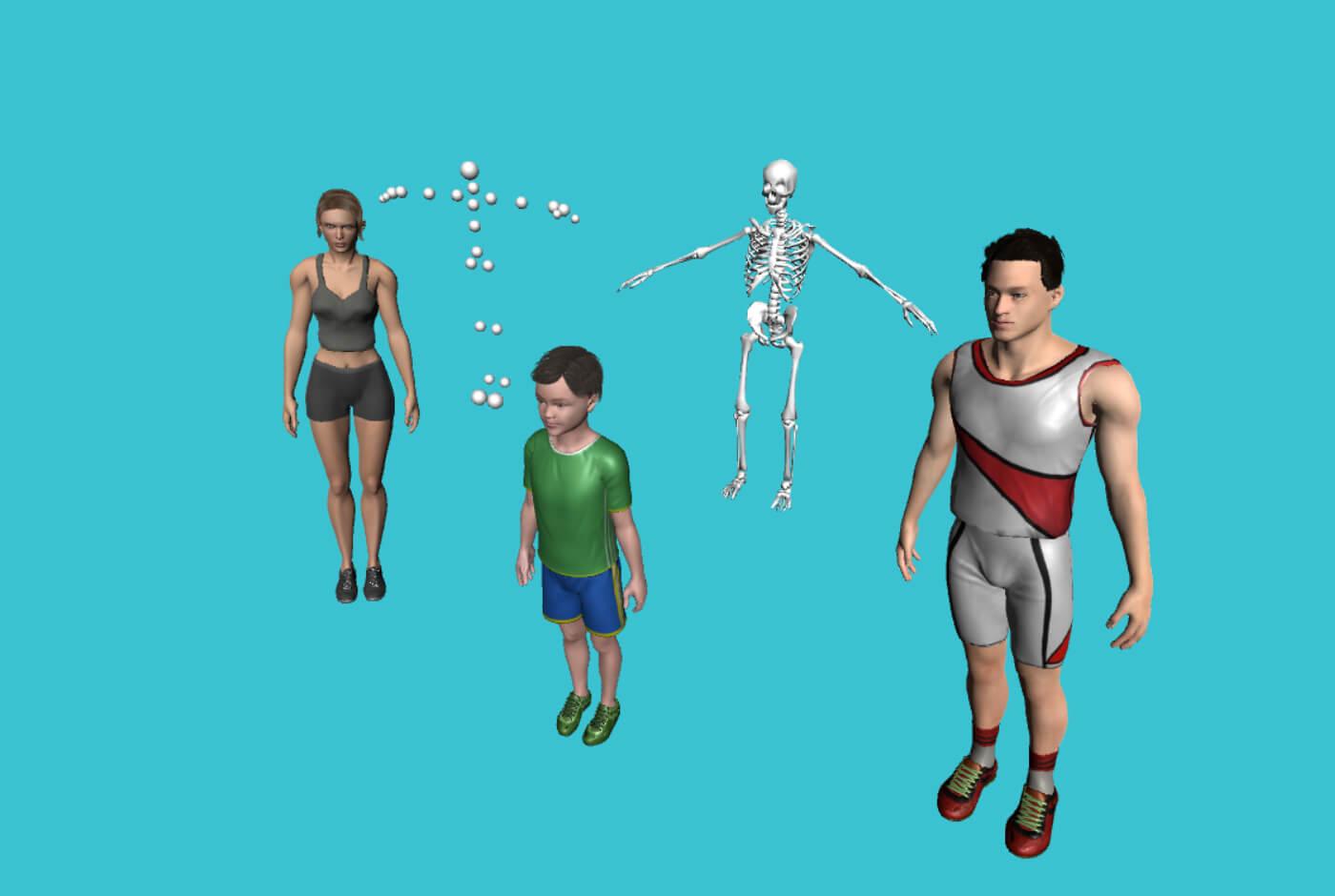 Avateering (Kinect + Unity)   Vitruvius