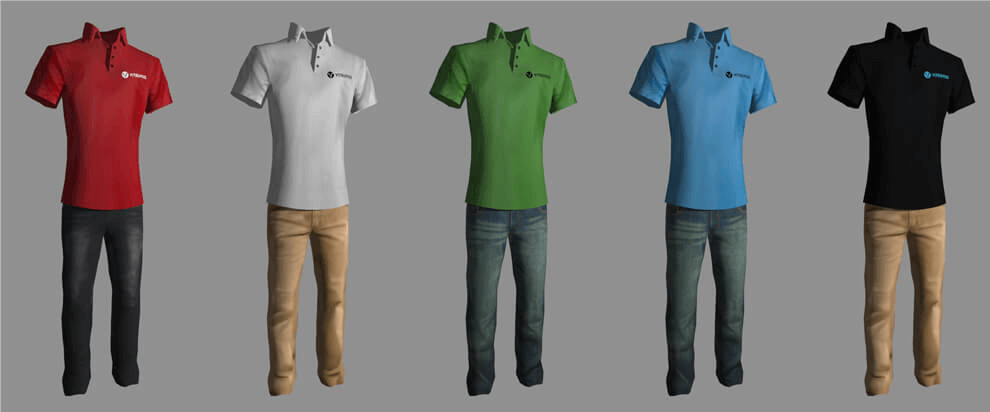 Vitruvius Kinect Models Clothes