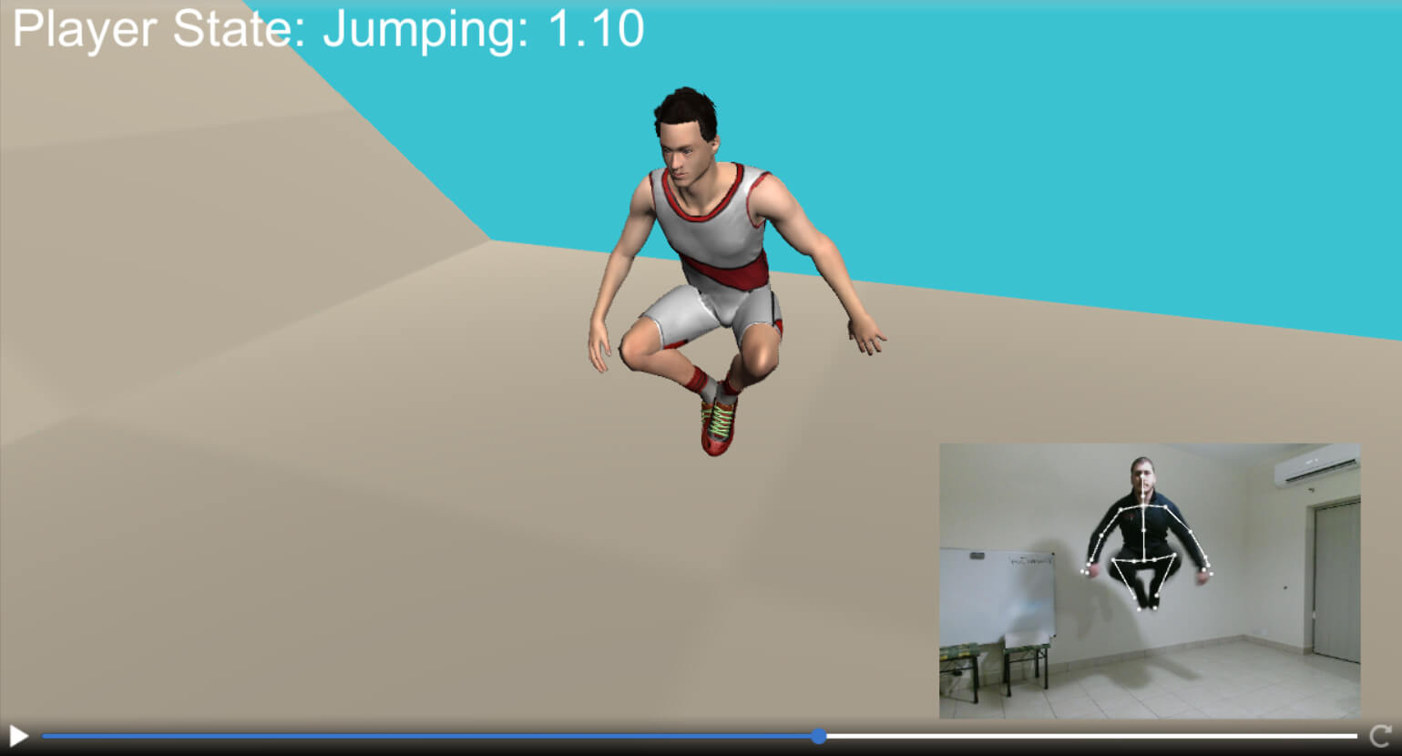 Jump detection using Kinect (demo)
